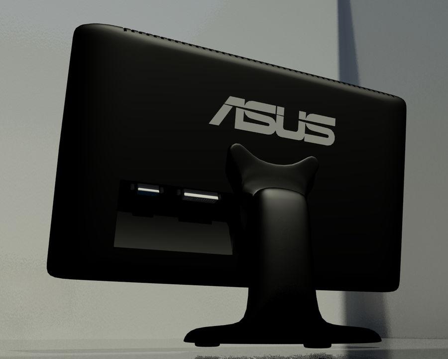 ASUS Computer Monitor royalty-free 3d model - Preview no. 2