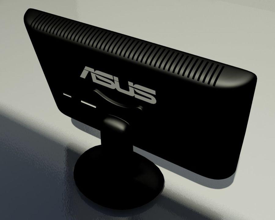 ASUS Computer Monitor royalty-free 3d model - Preview no. 3
