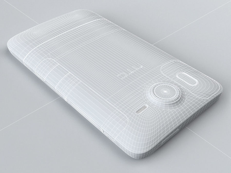 HTC Desire HD royalty-free 3d model - Preview no. 20
