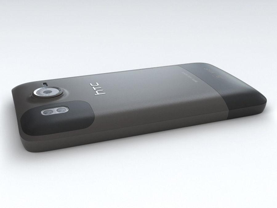 HTC Desire HD royalty-free 3d model - Preview no. 14
