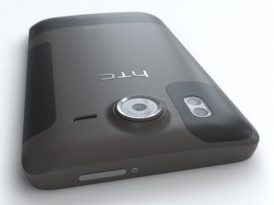 HTC Desire HD royalty-free 3d model - Preview no. 12