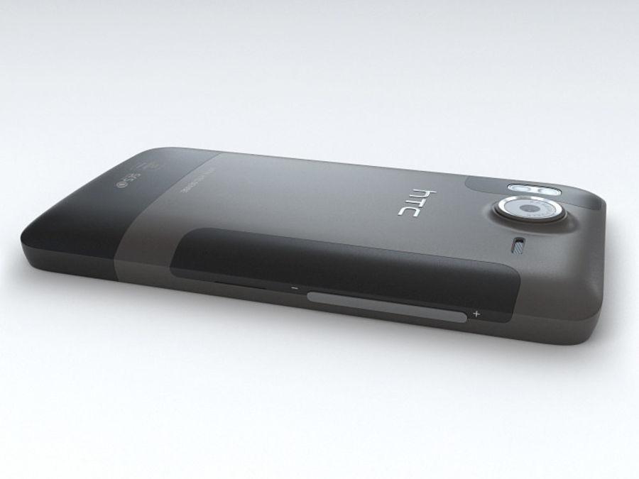 HTC Desire HD royalty-free 3d model - Preview no. 15