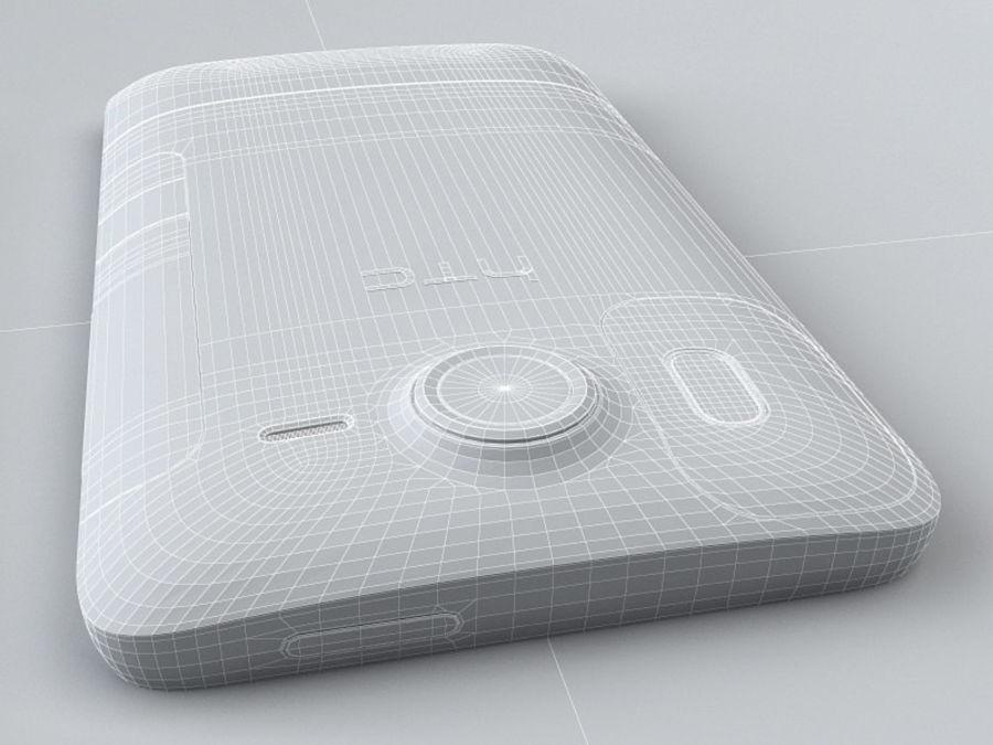 HTC Desire HD royalty-free 3d model - Preview no. 22