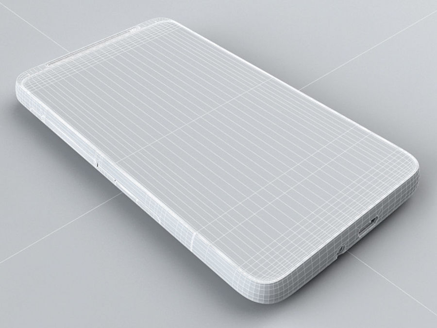 HTC Desire HD royalty-free 3d model - Preview no. 19
