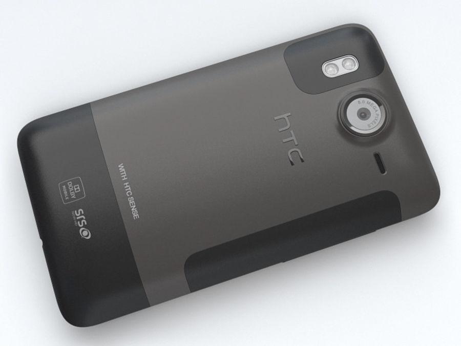 HTC Desire HD royalty-free 3d model - Preview no. 16