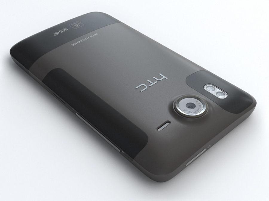 HTC Desire HD royalty-free 3d model - Preview no. 9