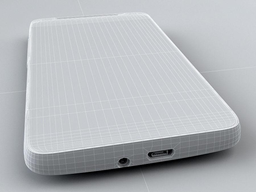 HTC Desire HD royalty-free 3d model - Preview no. 21