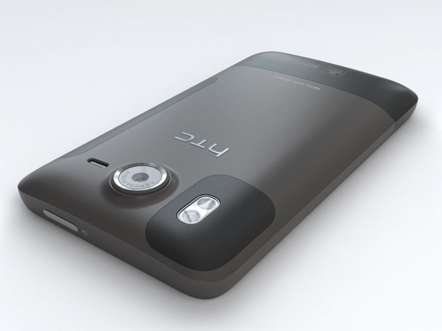 HTC Desire HD royalty-free 3d model - Preview no. 11