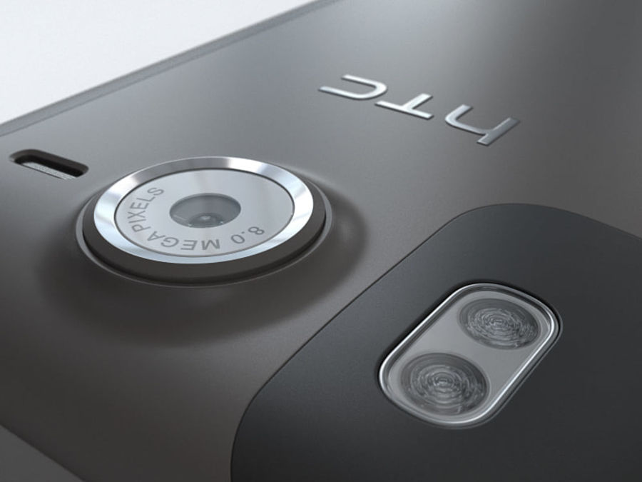 HTC Desire HD royalty-free 3d model - Preview no. 17