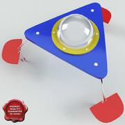 Tabela de crianças Ufo 3d model