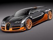 Bugatti Veyron Super Sport 2012 3d model