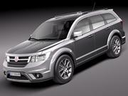Fiat Freemont 2012 3d model