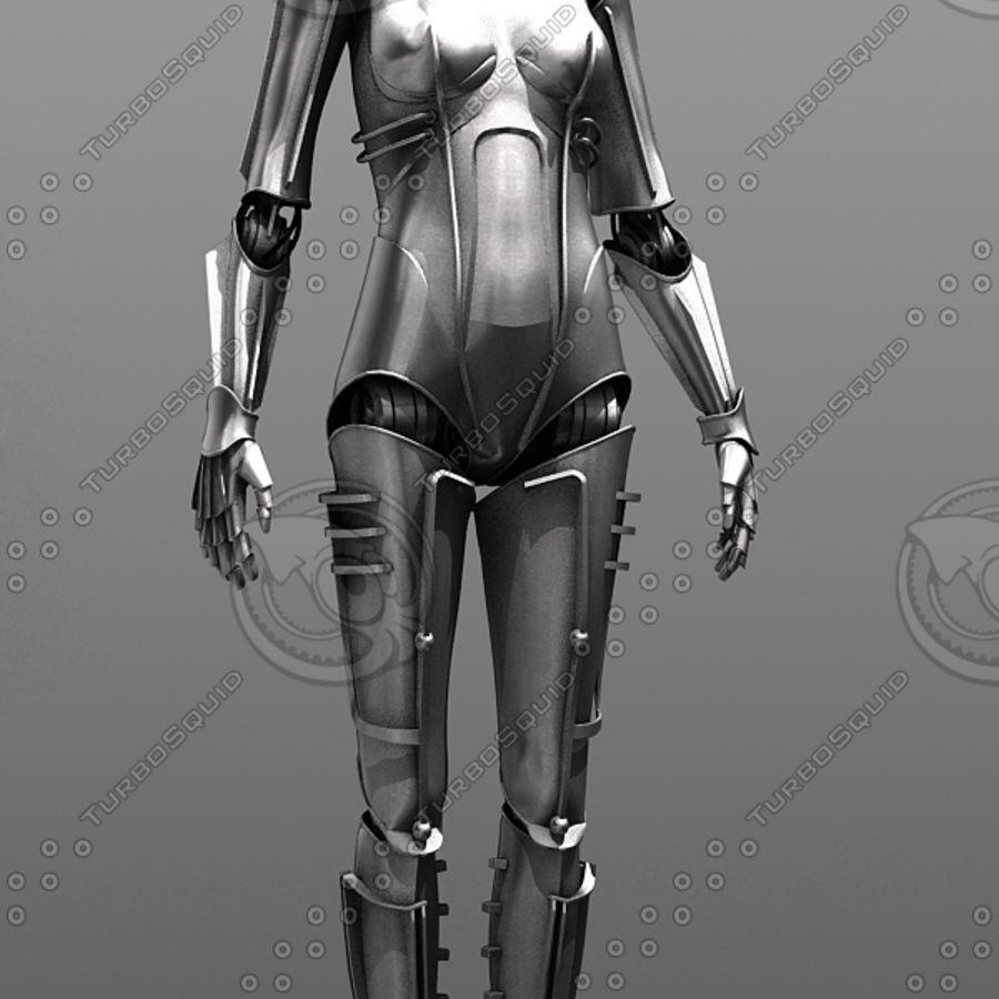 Metropolis Style Robot royalty-free 3d model - Preview no. 1