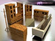 C5_S5_Guadalajara Oturma Odası 3d model