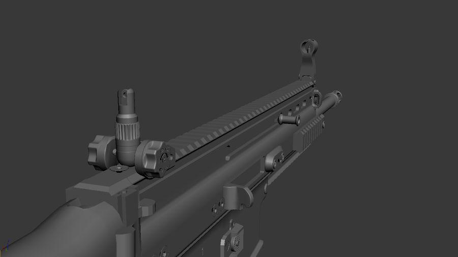 SCAR L DIY kit royalty-free 3d model - Preview no. 11