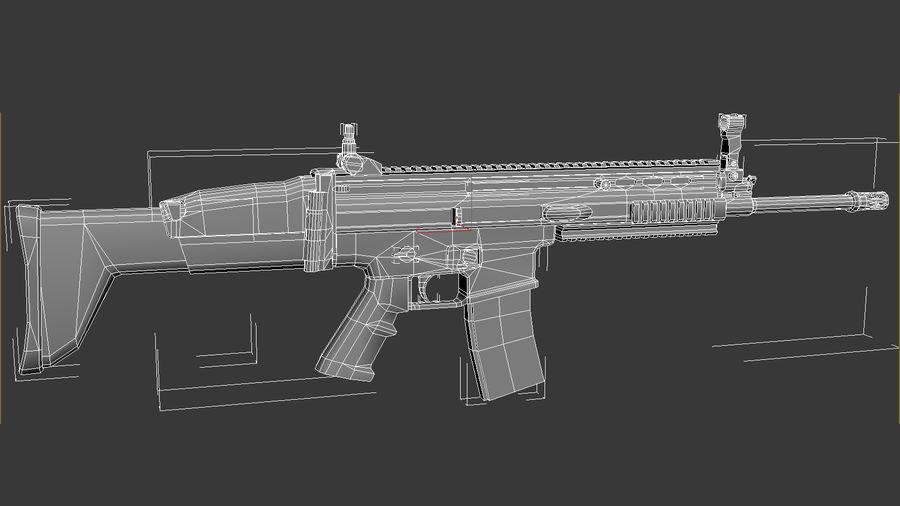 SCAR L DIY kit royalty-free 3d model - Preview no. 5
