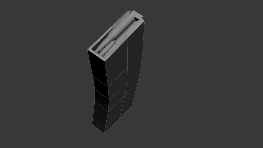 SCAR L DIY kit royalty-free 3d model - Preview no. 8