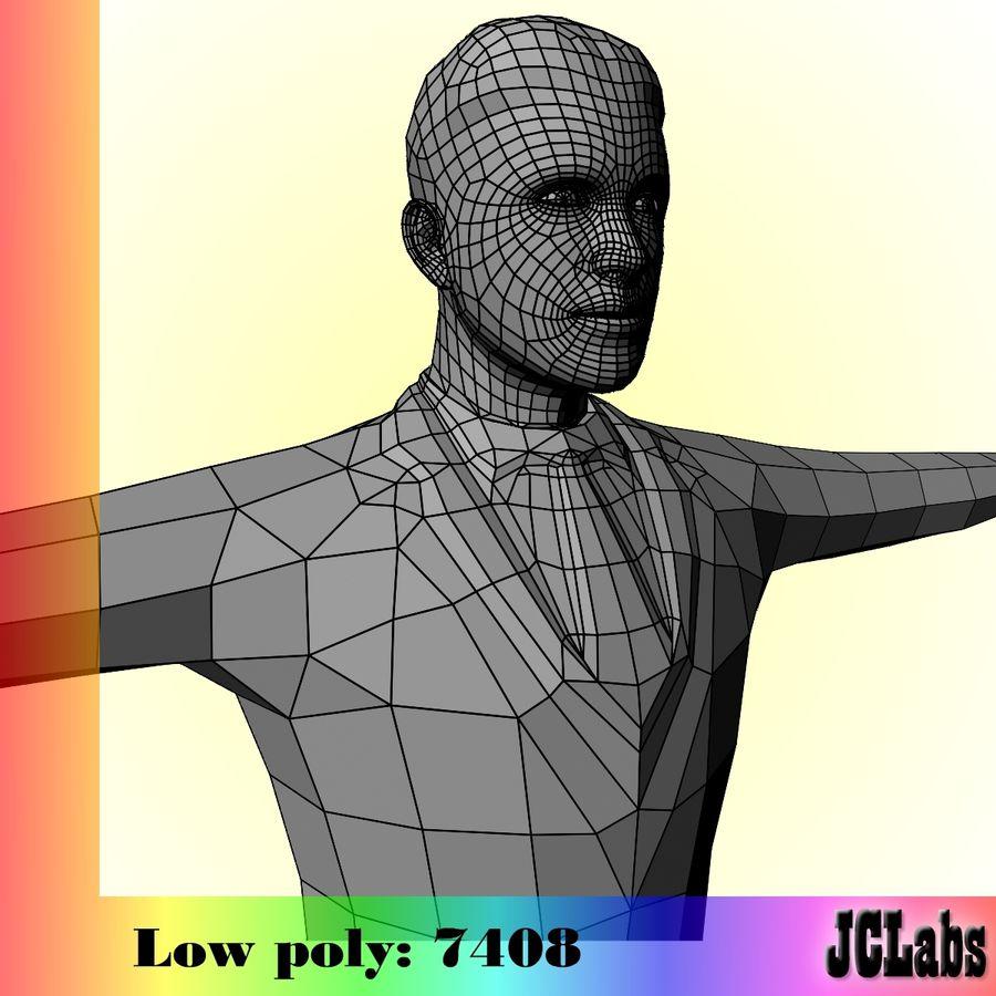 Man royalty-free 3d model - Preview no. 3