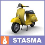 Vespa scooter 3d model