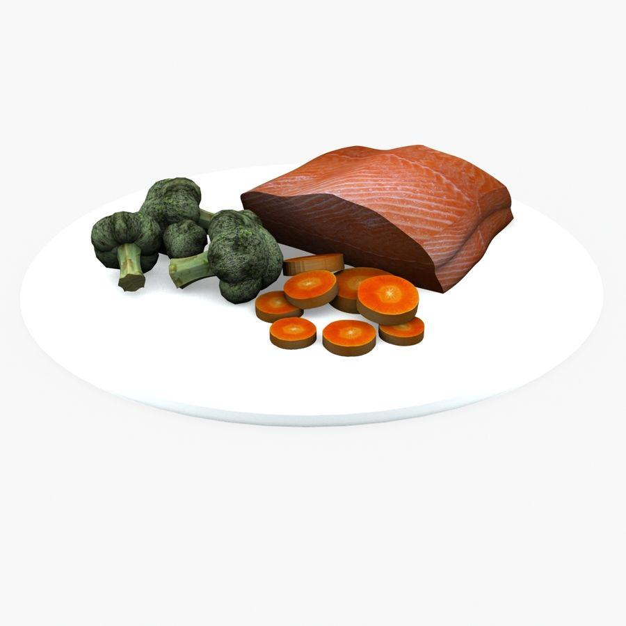 aliments à vapeur royalty-free 3d model - Preview no. 1