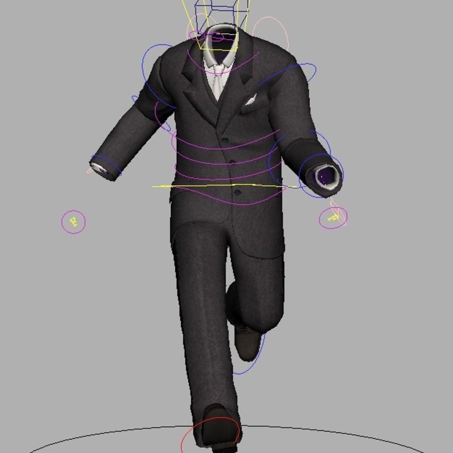 suit royalty-free 3d model - Preview no. 20