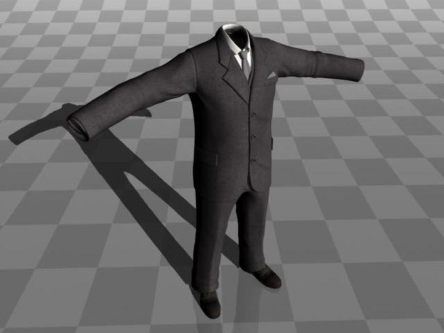 suit royalty-free 3d model - Preview no. 8