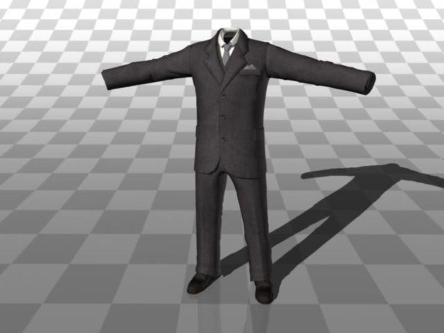 suit royalty-free 3d model - Preview no. 1