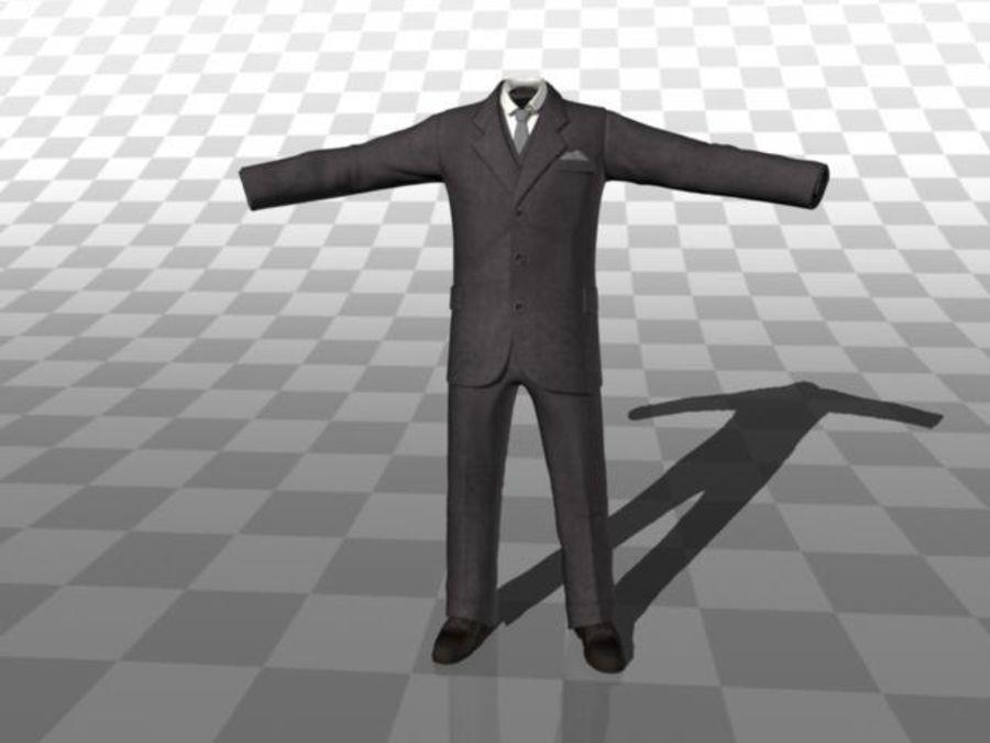 suit royalty-free 3d model - Preview no. 2