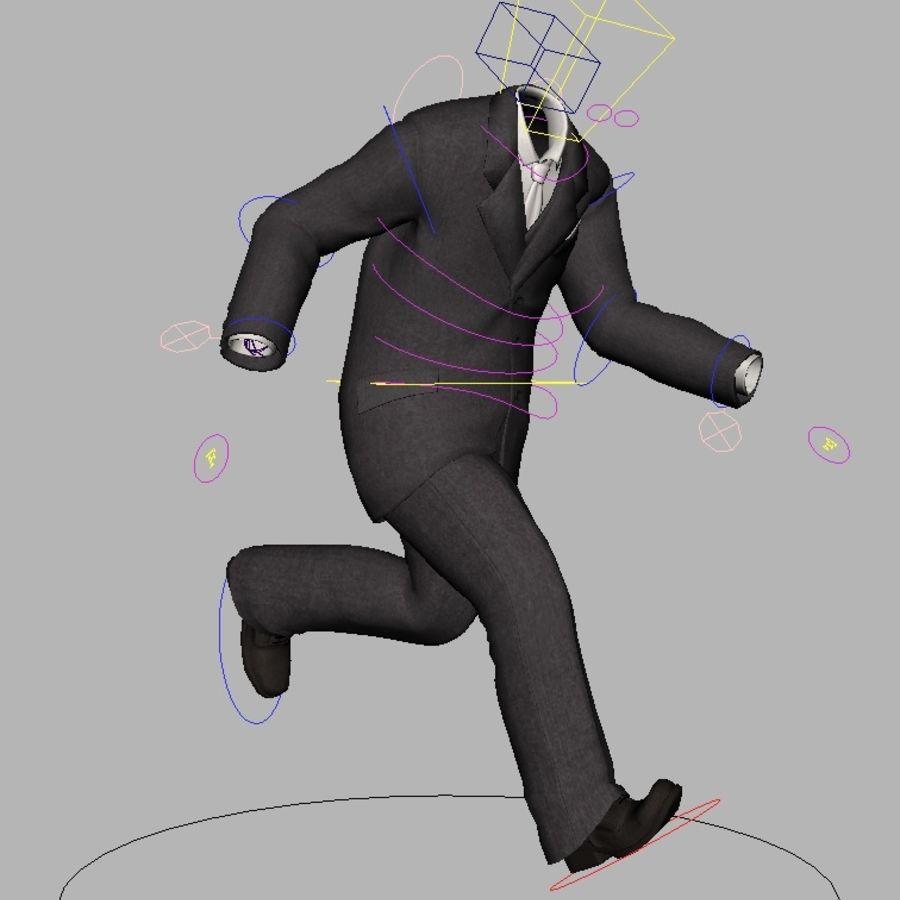 suit royalty-free 3d model - Preview no. 16