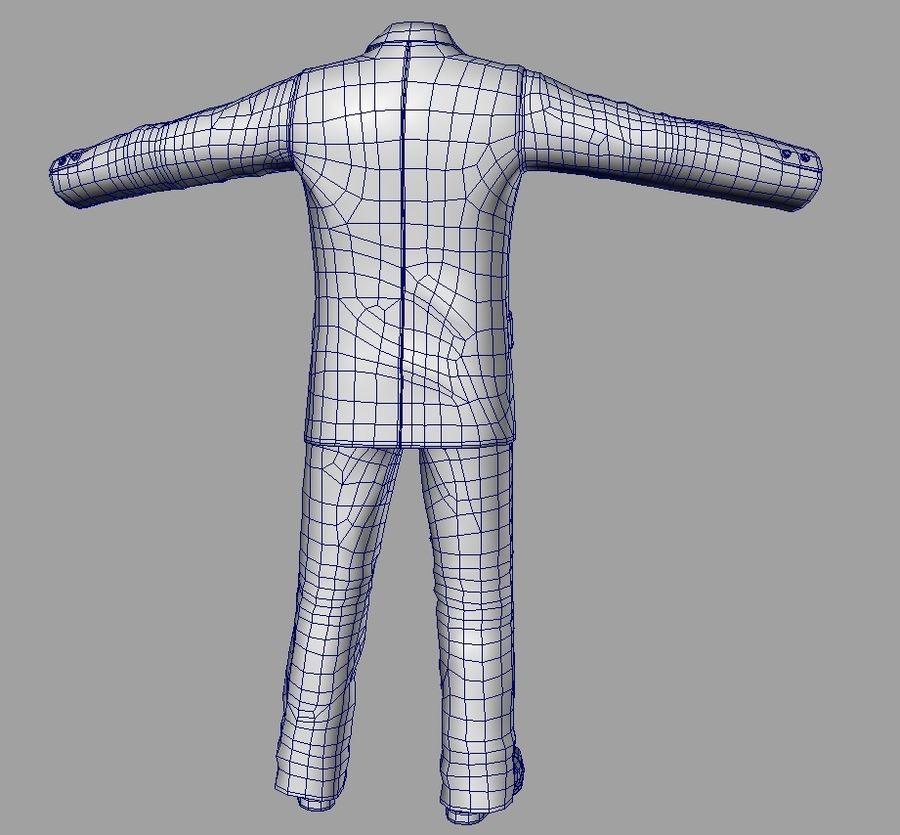 suit royalty-free 3d model - Preview no. 14