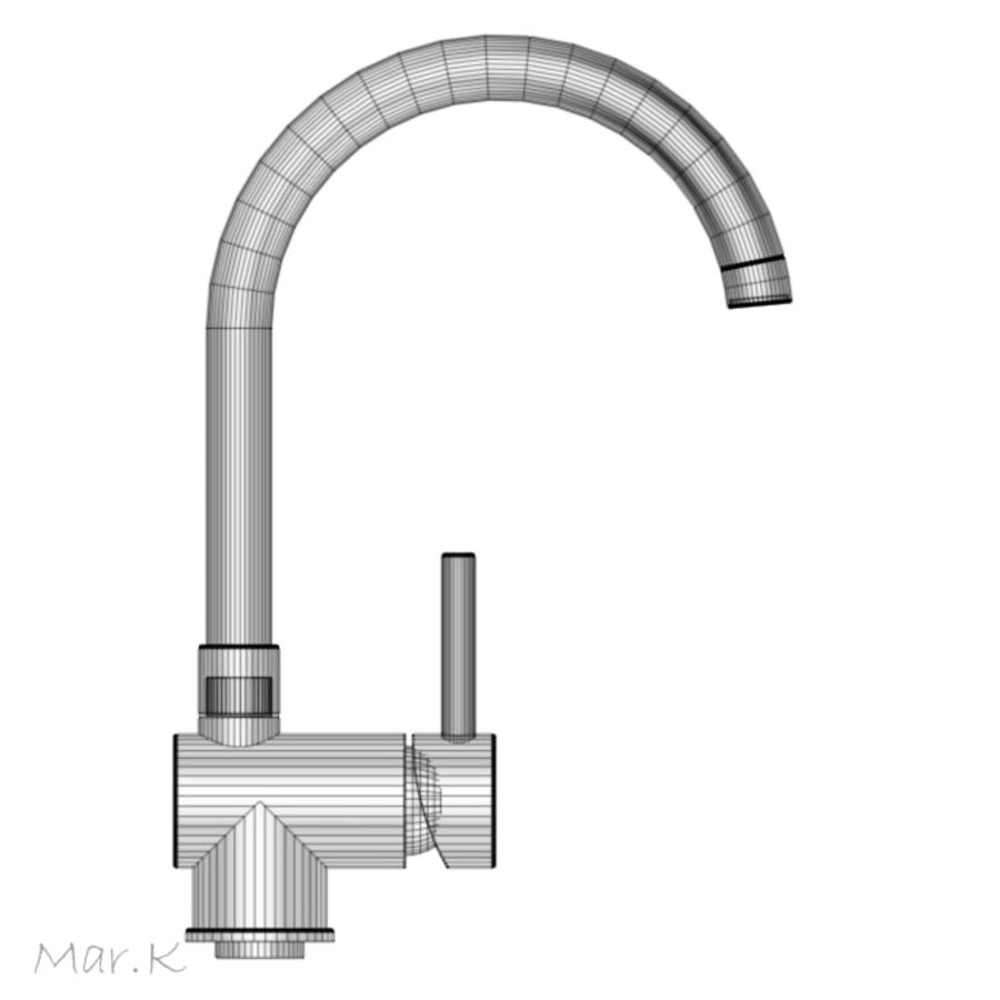 Faucet_franke royalty-free 3d model - Preview no. 4