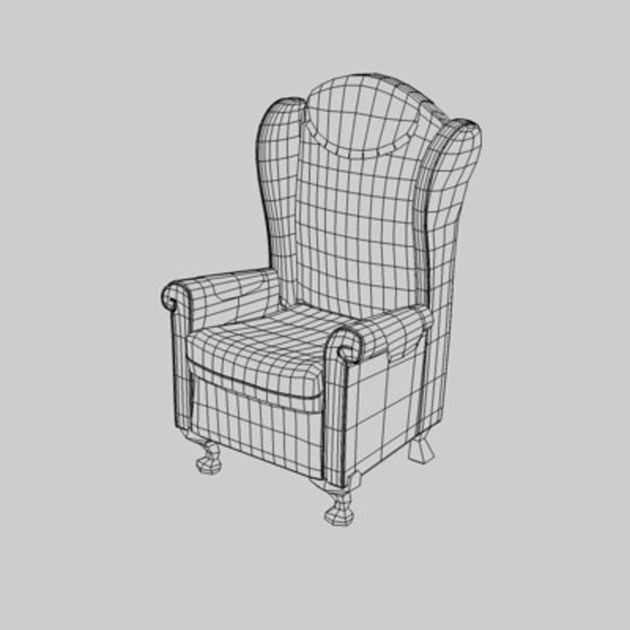 Sessel royalty-free 3d model - Preview no. 5