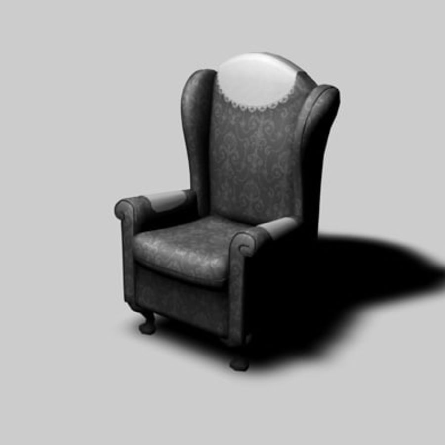 Sessel royalty-free 3d model - Preview no. 4