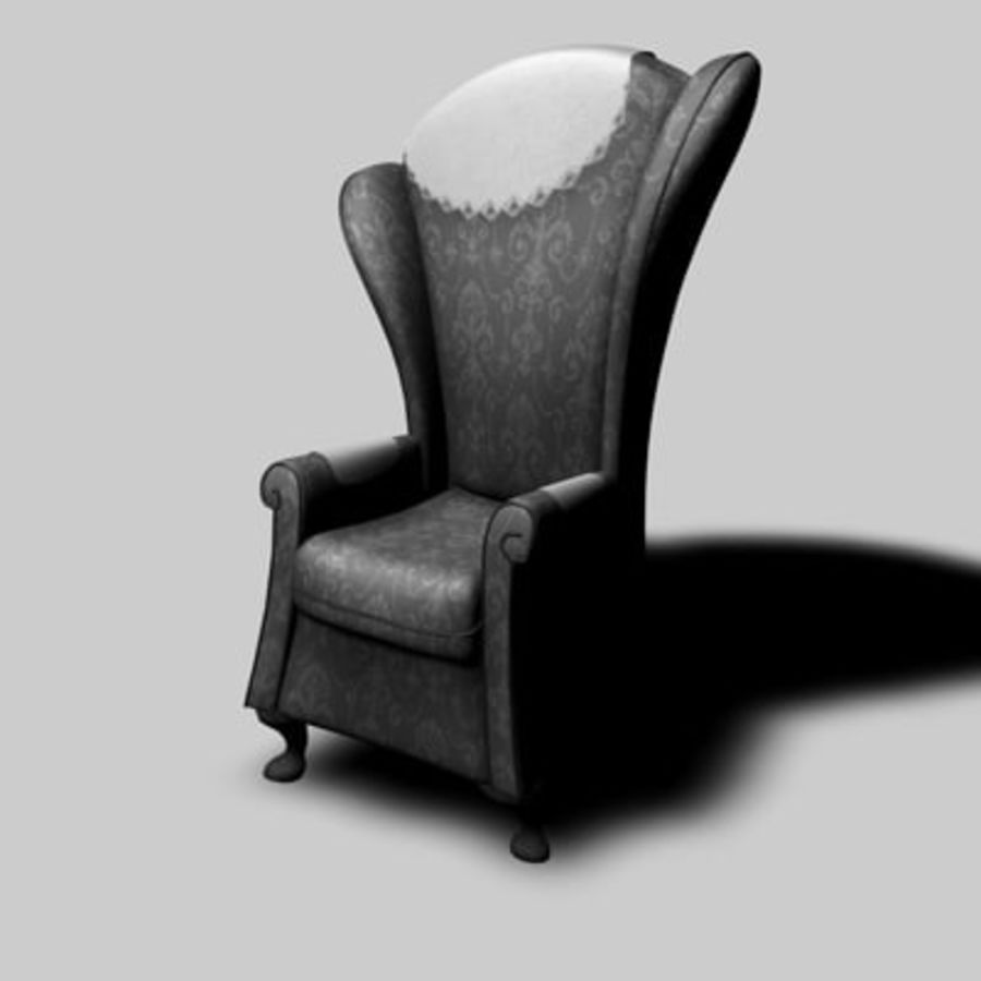 Sessel royalty-free 3d model - Preview no. 1