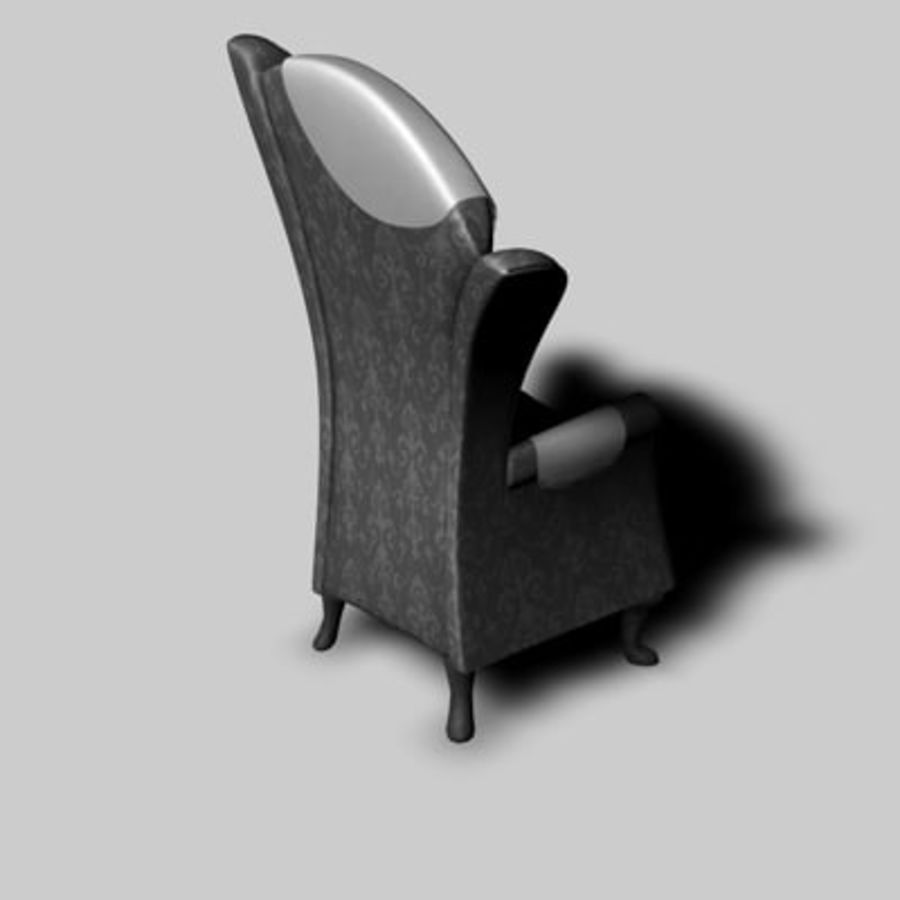 Sessel royalty-free 3d model - Preview no. 3