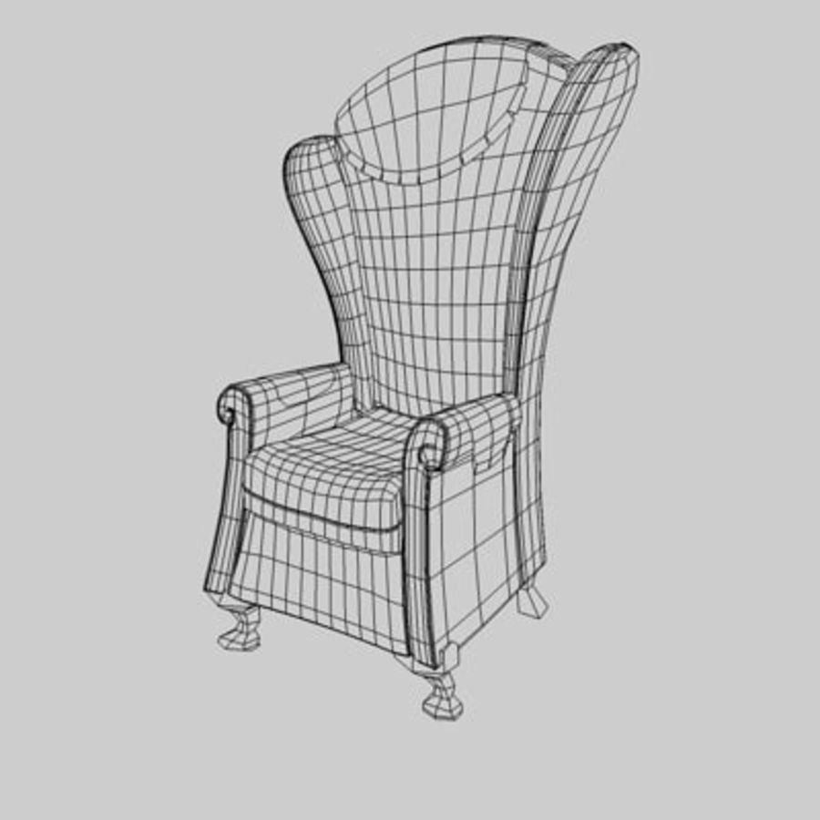 Sessel royalty-free 3d model - Preview no. 2