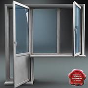 Plastik Pencere V1 3d model