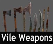 Vile Weapons Pack 3d model