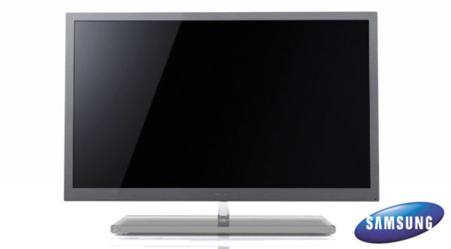 Samsung Led TV 9000 royalty-free 3d model - Preview no. 1