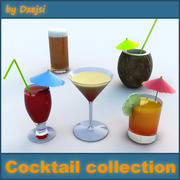 Cocktail collection 3d model