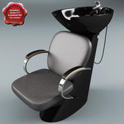 Salon Wash Point 3d model