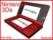 Nintendo 3ds 3d model