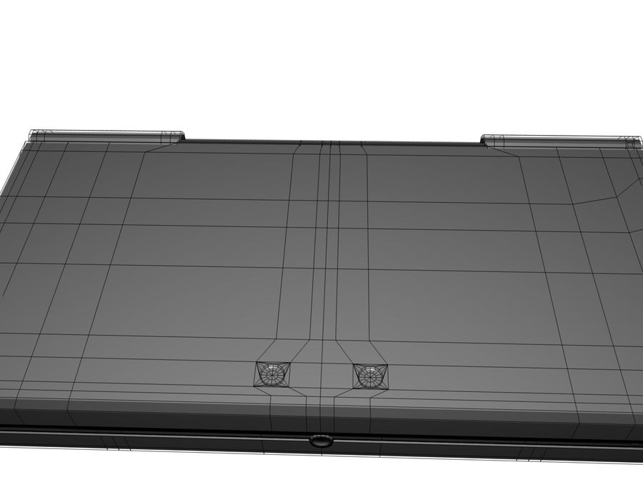 Nintendo 3Ds royalty-free 3d model - Preview no. 11