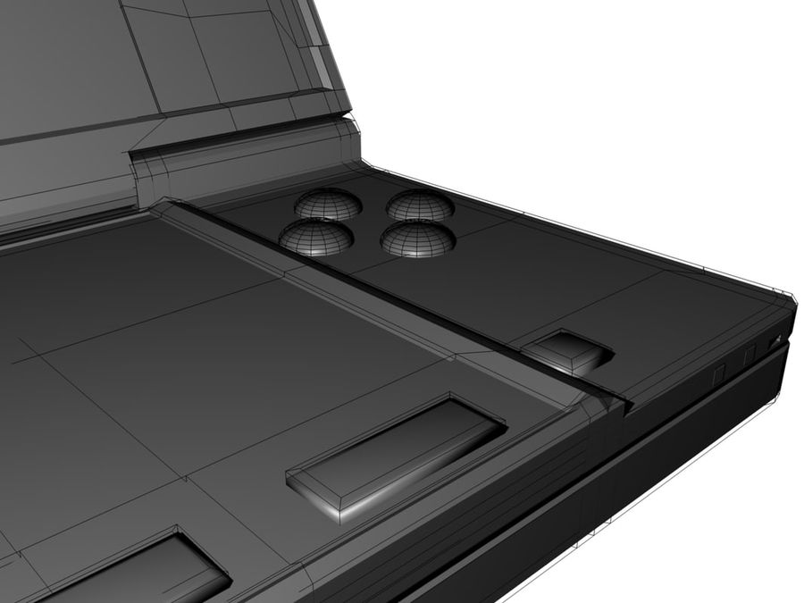 Nintendo 3Ds royalty-free 3d model - Preview no. 9