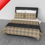 Кровать 03 - Комфорт 3d model