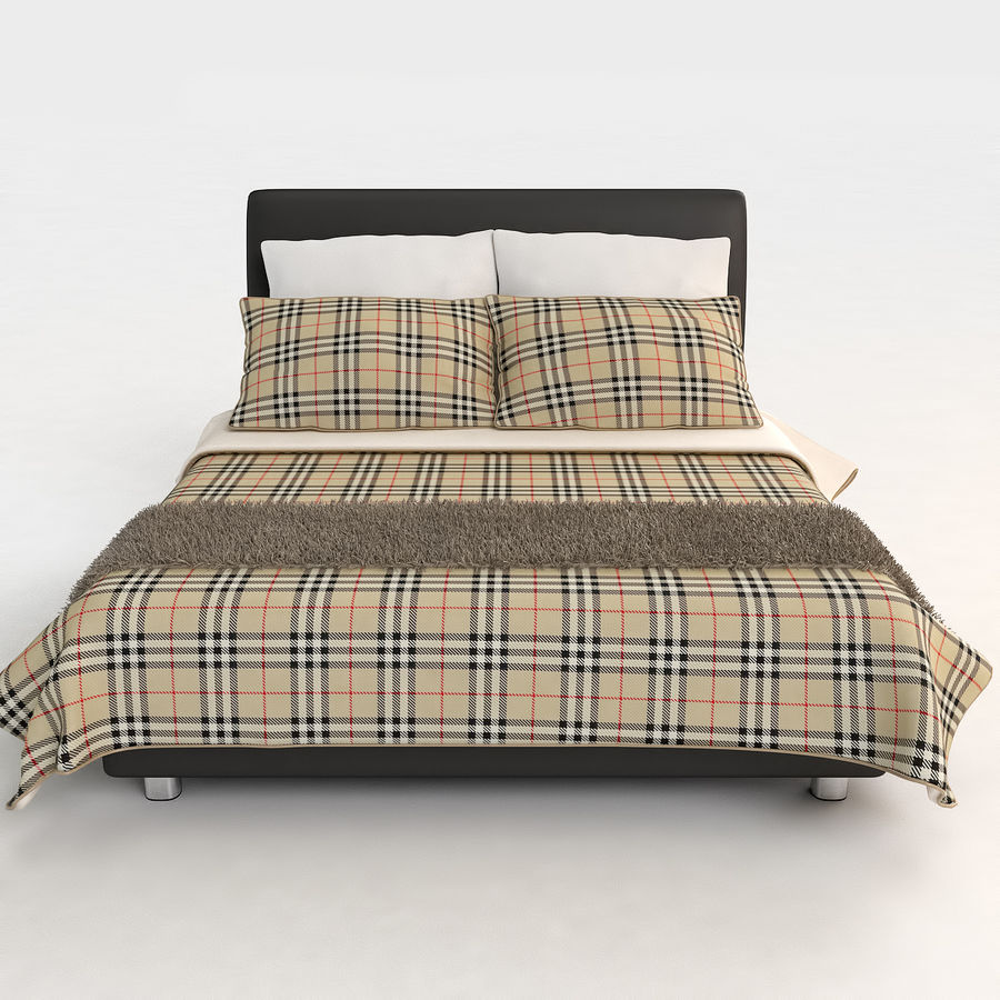 Bed 03 - Comfort royalty-free 3d model - Preview no. 4