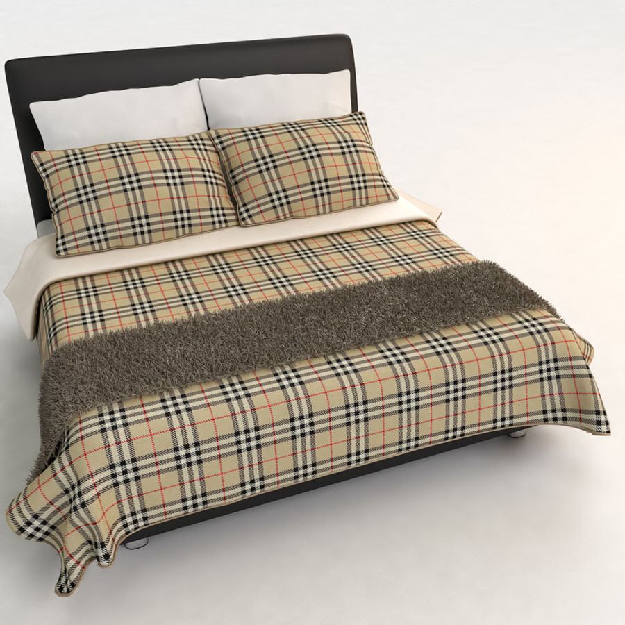 Bed 03 - Comfort royalty-free 3d model - Preview no. 2