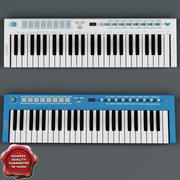 USB MIDI Keyboard U-Key Collection 3d model