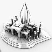 Under Water City Pack 3d model