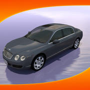 Car Bentley Continental 3d model